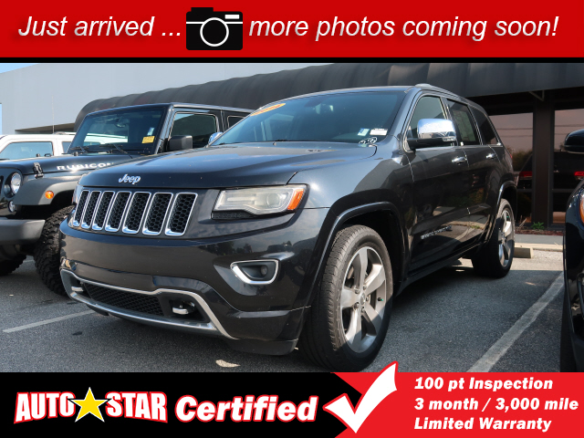 Overland Park Jeep Dodge Ram Chrysler >> Pre-Owned 2014 Jeep Grand Cherokee Overland 4D Sport Utilit near Asheville #90109a | AutoStar USA