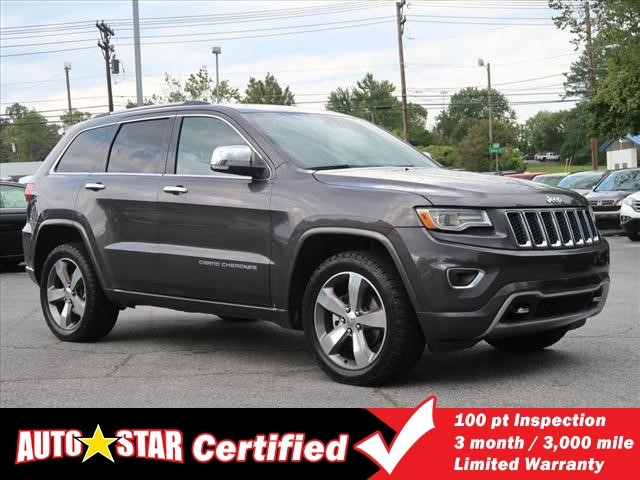 Jeep Grand Cherokee Overland >> Used 2015 Jeep Grand Cherokee Overland With Navigation