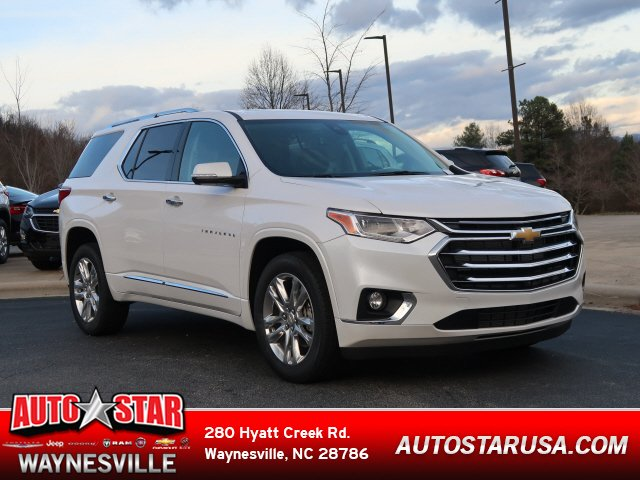 New 2020 Chevrolet Traverse High Country Sport Utility Near